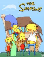 The Simpsons House by Senior-X