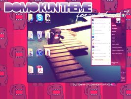 domo kun them for windows 7 by icanedit