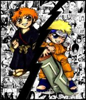 Bleach vs. Naruto by SuicideForAbheng