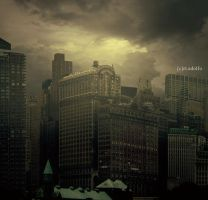 Dark city by RoadioArts