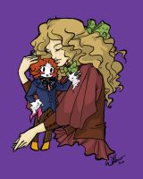 Alice and Hatter Chibi by Willowsama