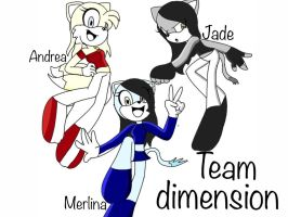 my team Dimension by Merlinathecat