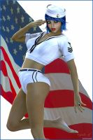 All American Girl 2012 by akulla3D