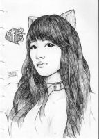 Suzy says: yaong (meow) by atmosfrozen