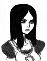 portrait of Alice Liddell by jack8642