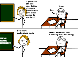Math -Rage Comic- by Albowtross91