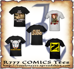 My Comics on shirt by Roselyne777