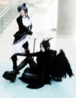 AX2012- Demon and Master by YourLittleBocchan