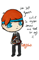 AVPM: Ron Weasley by saladsalty
