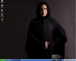 Desktop 2010 - Snape from HBP by RainaAstaldo