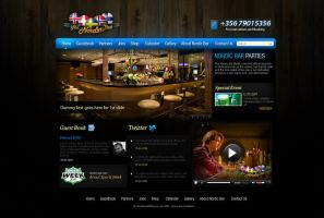 Bar Website by naseemhaider