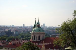view from Prague Castle by fairytale-gone-bad