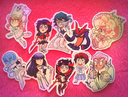 Kill la kill stickers by cam070