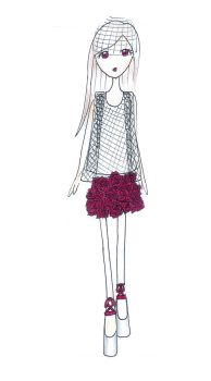 Another Roses skirt. by CiliaCC