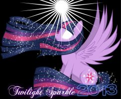 Twilight Sparkle 2013 by Momo-Chan14
