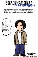 supernatural--i lost my shoe. by ryuuenx