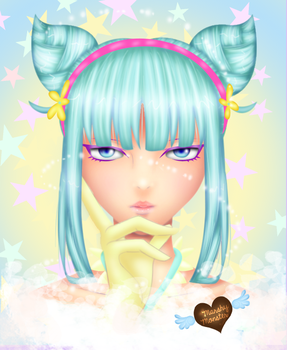 Daoko girl by marshy-monster
