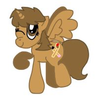 Me As a Pony Painting by CartoonAnimes4Ever