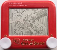 Shuckle etch a sketch by pikajane