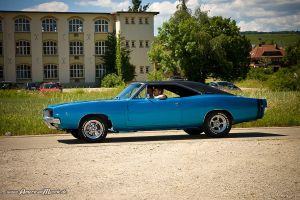 blue 68 charger I by AmericanMuscle