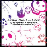 Scribble Pack 1: Punk by darkgarden