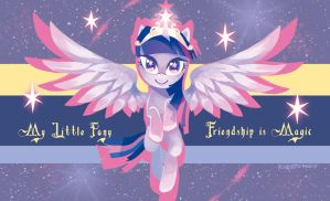 Princess of Friendship by gtchuang