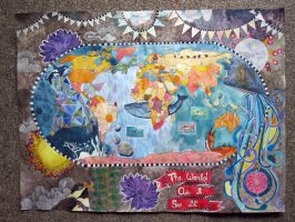 The World As I See It (ArthouseCoop Map Project) by Angela-Vandenbogaard