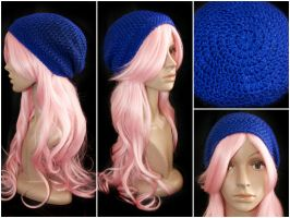 Royal Blue Sparkle Sloucy by rainbowdreamfactory