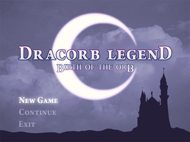 Dracorb Legend Title and Logo by Dark-Holder