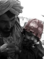 afghan baby 'new' by LostInTheDesert