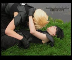 FFVII C.C. Cloud x Zack by Upaa-pyon