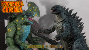 Trespasser vs. Godzilla by KingAsylus91