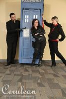 Doctor Who Photoshoot: Masters and Rani by StrangeStuffStudios