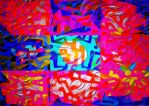 Psychedelic abstract by hiram67