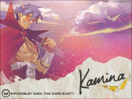 Kamina - Does this word exist? by AliRed