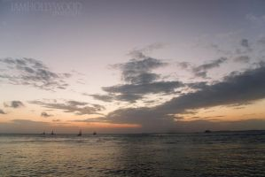 the End of a Sunset by Johnny23xx