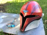 Mandalorian helmet almost done by ChrisCosplay