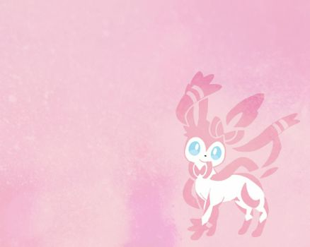 Sylveon Wallpaper by Sparky-2000