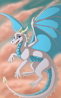 Wind Dragon by WindWo1f