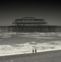 West pier by lostknightkg