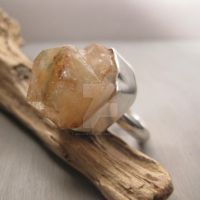 Cubist block ring by Jealousydesign