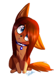 Confused Chibi Zoe~ by ScottishRedWolf
