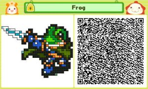 Frog QR by JAKtheTerrible