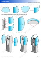 Gundam mecha cosplay tutorial - Lesson 5 - 4 by Clivelee