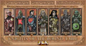 JLA:knights of the Round table by TheComicFan