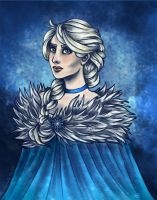 Elsa - Frozen by Ameza