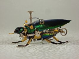 Steampunk-Clockpunk Bugs 35 by dkart71