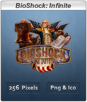 BioShock Infinite - Icon by Crussong