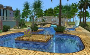 Adriatica - Pool View - The Sims 2 by allison731