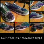 Comission: Geek-Wear Shoes by eronlovesyaoi